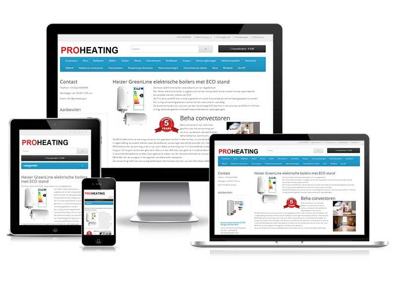 Website migratie Proheating
