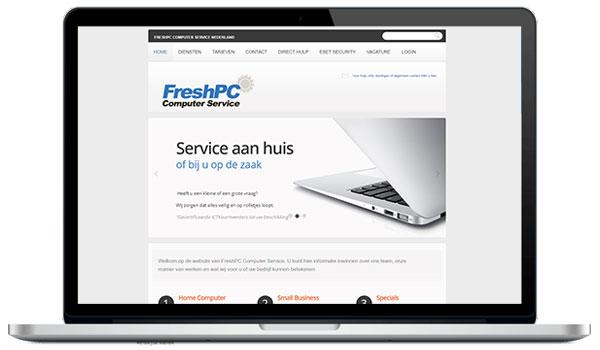 Website maken WordPress - FreshPC Computer Service - pc en laptop reparatie