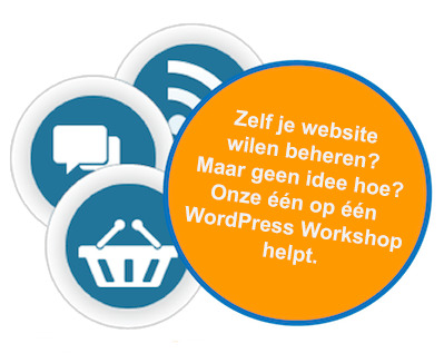 ICT diensten Follow Me - WordPress workshop