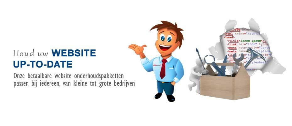 Efficient beheer en onderhoud van uw website